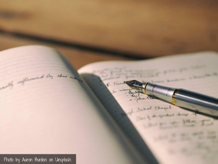 per Hand schreiben